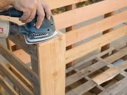 Patio Furniture Made Out Of Pallets by How To Make Stylish Outdoor Pallet Seating Hgtv