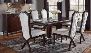 Wood Dining Room Tables And Chairs by Najarian Furniture Company Inc