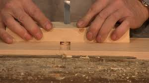 Wood Joints Using A Router by How To Make A Poor Man U0027s Hand Router Paul Sellers Youtube