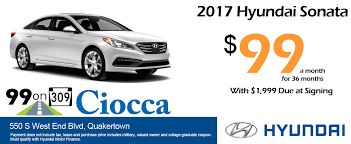 ciocca hyundai new hyundai u0026 used car dealer in quakertown pa