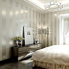 Background Wall Mirror Wall Tiles Contemporary Bedroom by European Modern Minimalist Country Luxury Stripe Wallpapers For