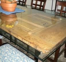 Door Dining Room Table 25 Ways To Repurpose U0026 Reuse Old Vintage Wood Doors