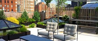 Patio Furniture Nyc by Designing Roof Gardens Amber Freda Home U0026 Garden Design