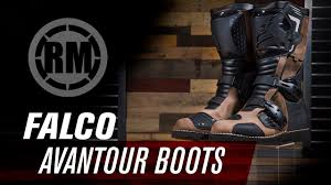 low top motorcycle boots falco avantour adventure motorcycle boots rmatvmc youtube