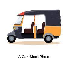 vector clipart of asian auto rickshaw taxi asian auto rickshaw