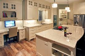 floform kitchen with cambria u0027s darlington countertops