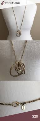 metal circle necklace images Best 25 interlocking circle necklace ideas circle jpg