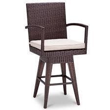 bar stool outdoor outdoor swivel bar stools ebay