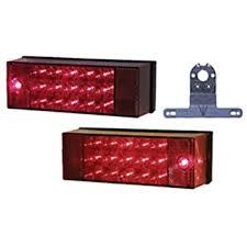 amazon com peterson v941 piranha red led rear trailer light kit