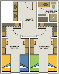 Utd Campus Map Riverview Residence Hall University Housing