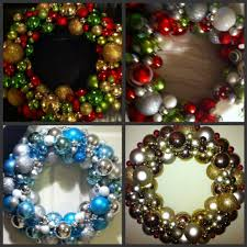 diy wreaths with ornaments rainforest islands ferry
