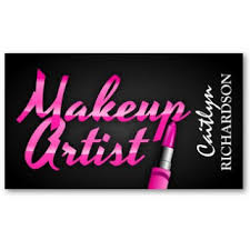 makeup artists business cards business card showcase by socialite designs makeup artist