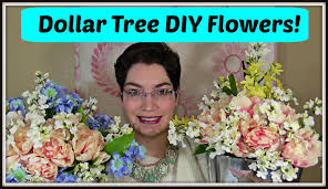 dollar tree decor how to make a spring floral arrangement youtube