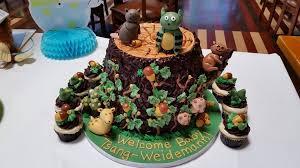 woodland creature baby shower woodland creatures baby shower cake fantastical cakes ideas