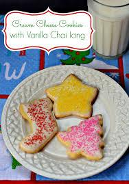 cream cheese cookies with vanilla chai icing recipe vanilla
