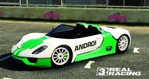 Porsche 918 Concept - real racing 3 tuning porsche 918 spyder concept race youtube