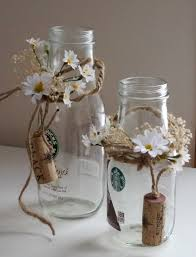 rustic wedding table decorations set of 2 daisy centerpieces
