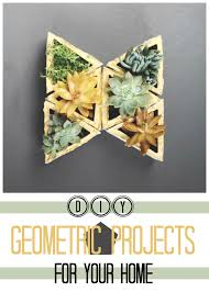 Geometry Map Project 20 Diy Geometric Projects For Your Home Tipsaholic