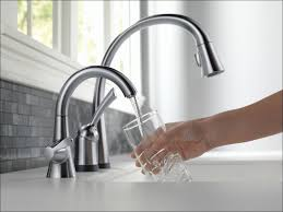 kohler touchless kitchen faucet kitchen kohler bellera faucet installation moen eva one handle
