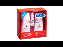 luster pro light teeth whitening system reviews luster pro light dental whitening system an honest review youtube