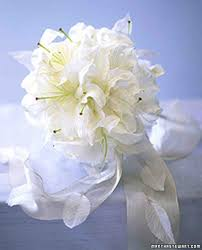 bouquet of lilies wedding bouquets martha stewart weddings