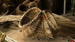 egg baskets willow weaving tutorial how to weave a willow easter egg basket