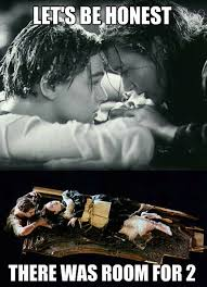Titanic Door Meme - definitive proof rose and jack could have survived together