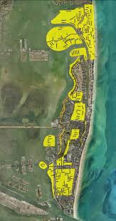 Map Of South Beach Miami by Miami Beach Map Shows Full Scope Of Roads That Will Be Raised