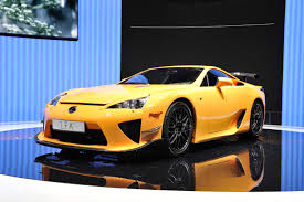 yellow lexus is lexus lfa the end of production