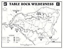 table rock hiking trail cascade ramblings cascader table rock table rock wilderness