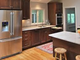 paint vs stain kitchen cabinets painted vs stained cabinets kitchen views