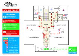 fire exit floor plan template osha evacuation plan template fire floor well gallery so