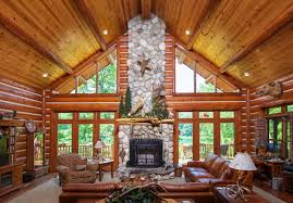 chalet style dickinson homes hybrid log chalet style home mancelona mi