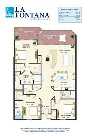 floor plans for new condos in st augustine fl la fontana