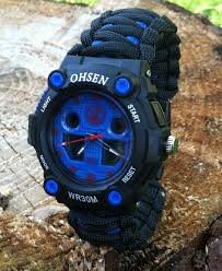 survival bracelet watches images Hikepro ultimate 550 paracord survival gear and more jpg