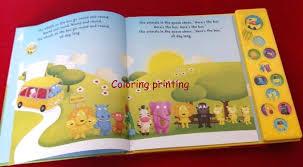 Children Sound Book Book Custom Book Printing Sound Book Book Custom Book Printing