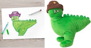 ikea turned children s drawings into real plush toys to raise