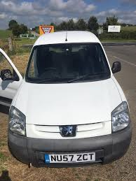 peugeot partner 2016 white white 2007 peugeot partner van in callington cornwall gumtree