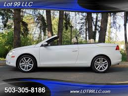 hardtop convertible cars 2009 volkswagen eos lux hardtop convertible 90k 1 owner for sale