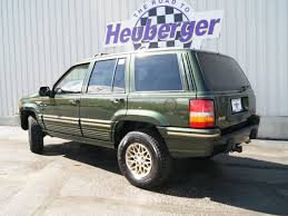 jeep grand 1995 limited jeep grand 1995 moss green suv limited gasoline 8