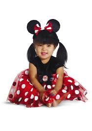 minnie and mickey mouse halloween costumes for adults infant red minnie my first disney costume