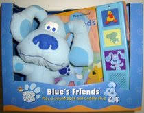 blues clues blues friends play sound book cuddly blue blues