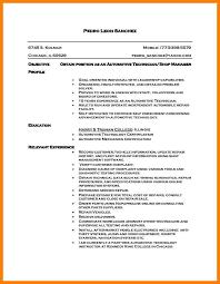 Auto Mechanic Resume Examples by Self Enrichment Resume Example Resume Archivists Teacher For The