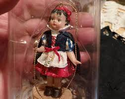 doll ornament etsy