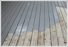painting a deck new product by behr that made painting my deck a