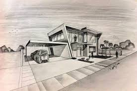 new ideas architectural drawings of modern houses with mid century