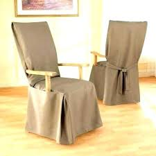 burlap chair covers burlap chair covers dining chairs medium size of room slipcovers