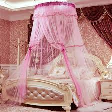 Lace Bed Canopy Princess Pastoral Lace Bed Canopy Mosquito Net Fit Crib Netting