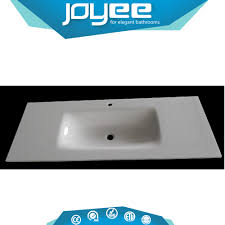 one piece glass bathroom sink and countertop one piece glass