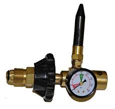 helium delivery helium tank regulator filler valve for balloons with